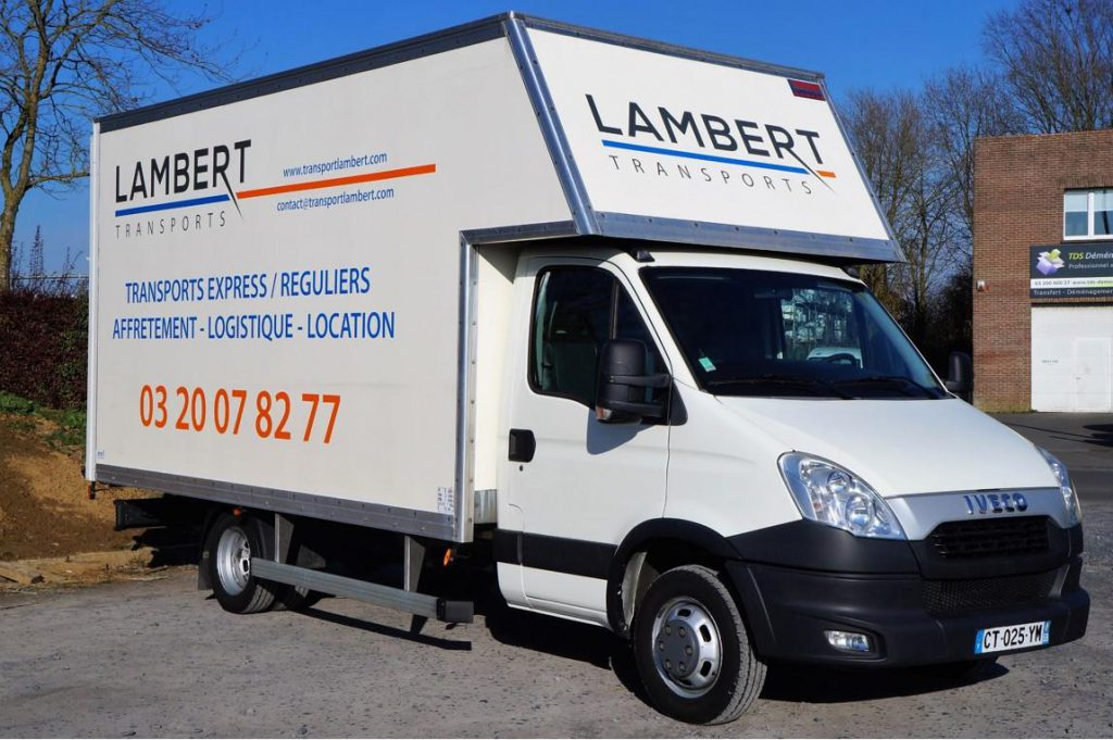 location de camion avec chauffeur transports lambert. Black Bedroom Furniture Sets. Home Design Ideas
